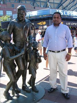 Arthur Ashe statue