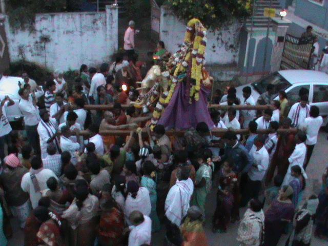 MUKKOTI UTSAVALU AT BHADRACHALAM TEMPLE TOWN....