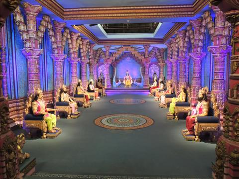 Mahabharat set in Ramoji Film City
