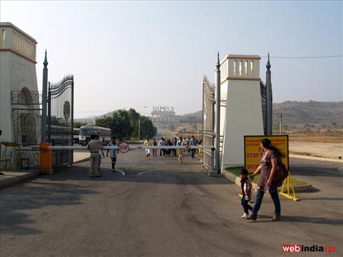 Ramoji Film City Entrance, Hyderabad