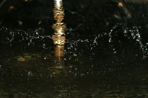 Water flash