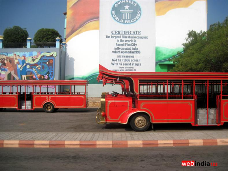 Vintage Bus at Ramoji Film City