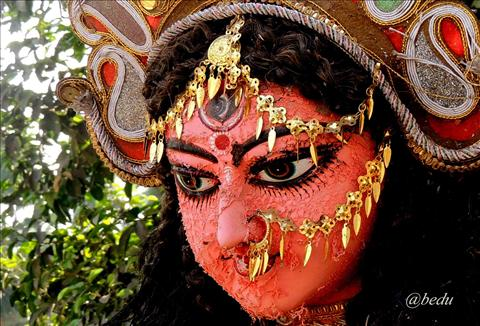face of durga