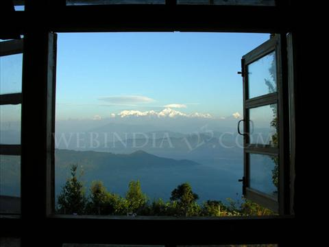Window View of Kanchanjunga