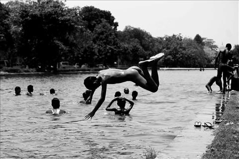 Perfect Diving..