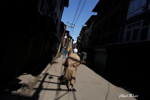 Strike in Kashmir