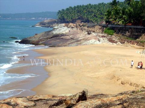 At Kovalam Beach, Thiruvananthapuram