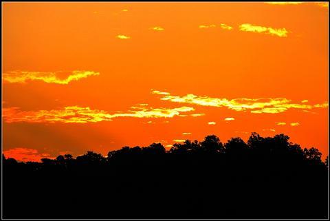 An Orange Evening