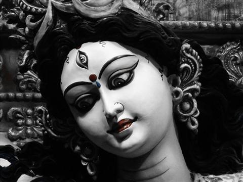 The unison of power and beauty-maa durga!