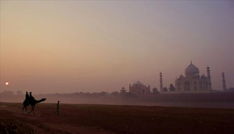 TAJ AT SUNRISE