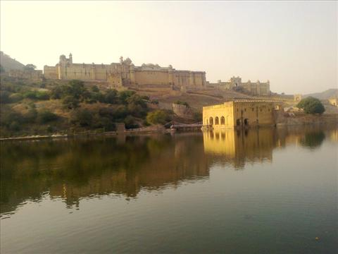 Amer Fort with Nature