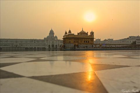 Sri Harmandir Sahib, also known as Sri Darbar Sahib or Golden Temple