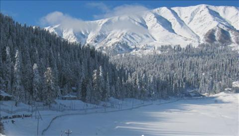 Beautiful landscape of Kashmir