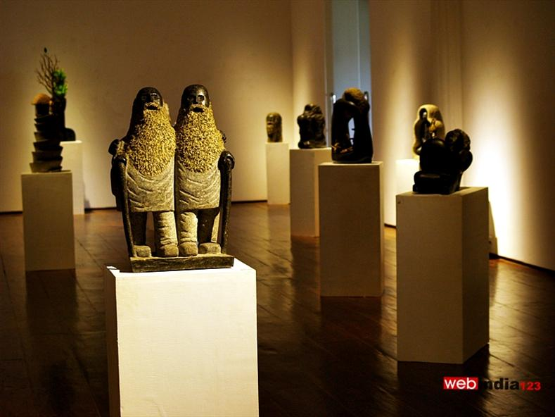 Exhibition of Sculpture by V.Satheesan