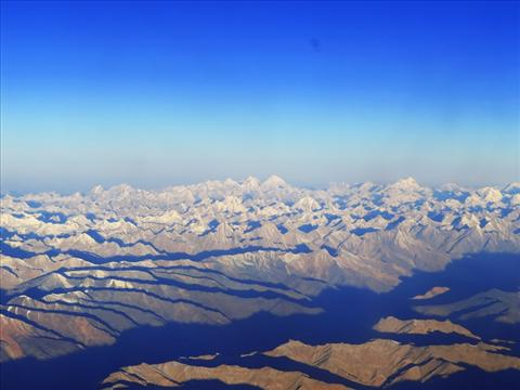 Himalaya From the Sky