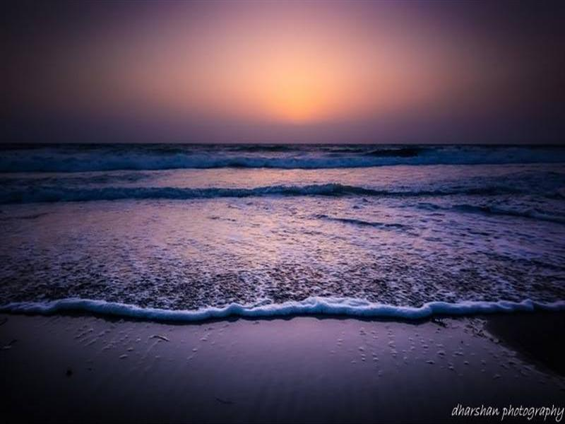 a soft dusk