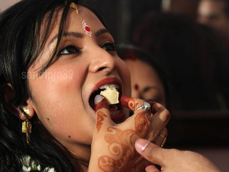 an indian married girl