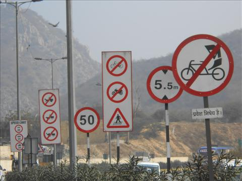 Traffic Signs: Always obey the rules