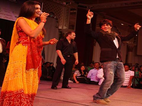 King Khan dances