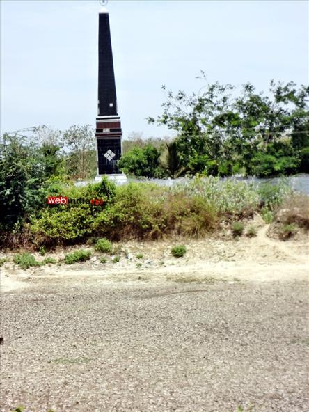 Tsunami victims memorial tower