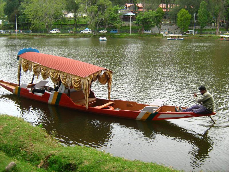 A boat at Kodai Lake