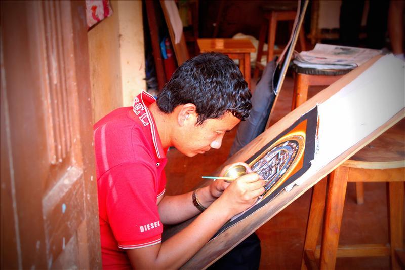 Art in making