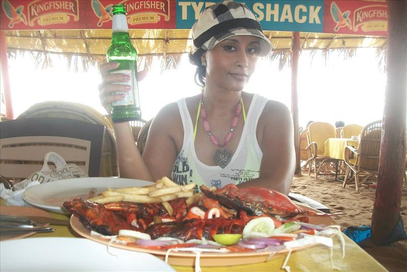 Aiysha Saagar at Goa