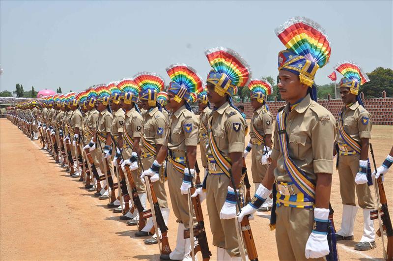 Preparations for K Chandrasekhar Rao's swearing-in ceremony