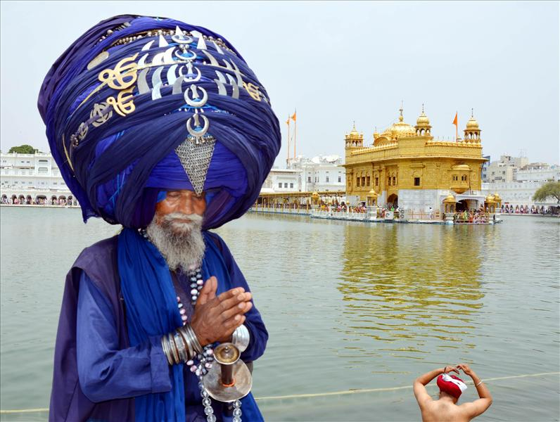 Martyrdom Day of Guru Arjun Dev at Amritsar Golden Temple