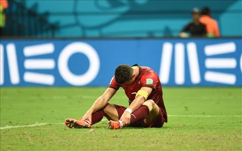 Portugal's Cristiano Ronaldo at 2014 FIFA World Cup