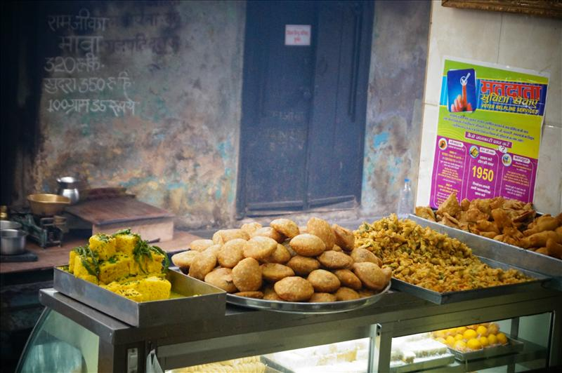 Indian fast food.