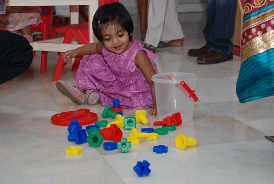 Pre-Nursery School at Pune in India