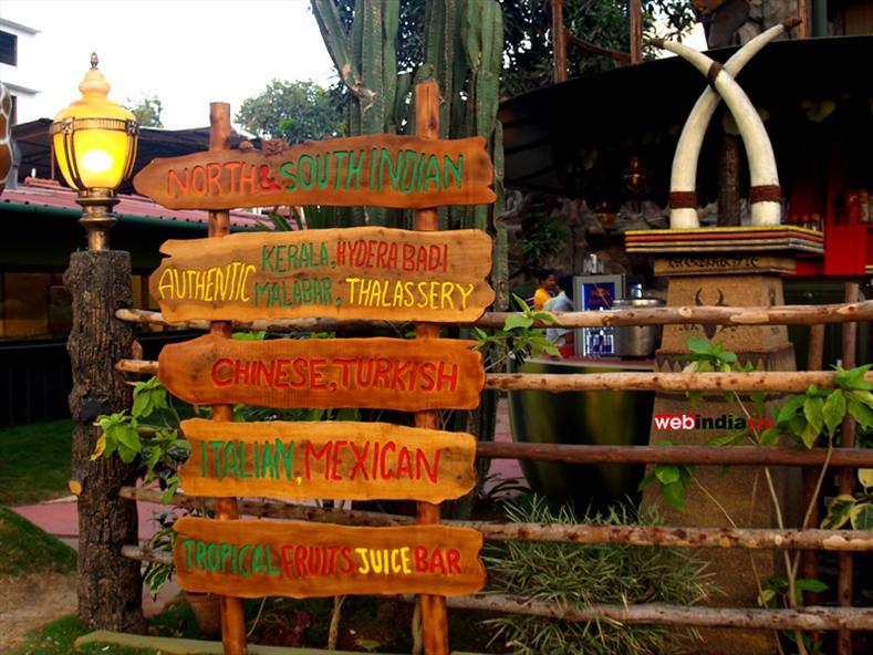 Hot Jungle Restaurant at Kochi