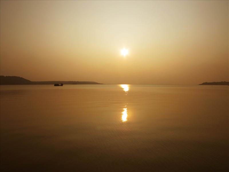 Sunset at Bhopal