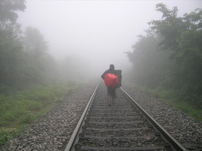 Journery on track