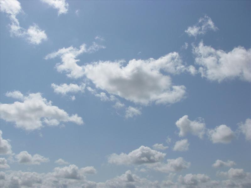 Scorpion Cloud in Sky..