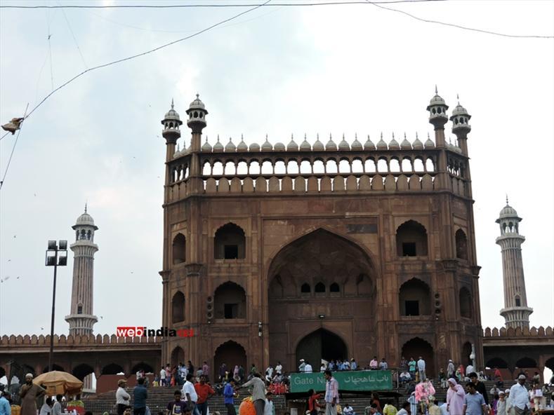 Jama Masjid in New Delhi