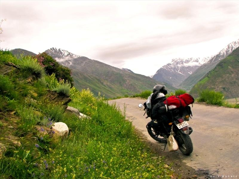 My Bike at Leh