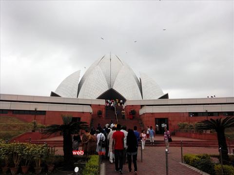 Lotus Temple - Bahai House of Worship