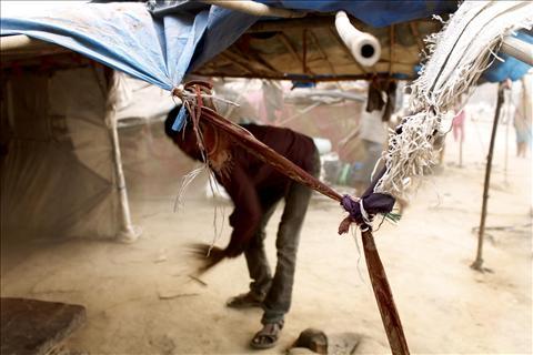 life in slums