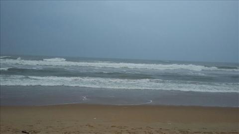 sea with scenary