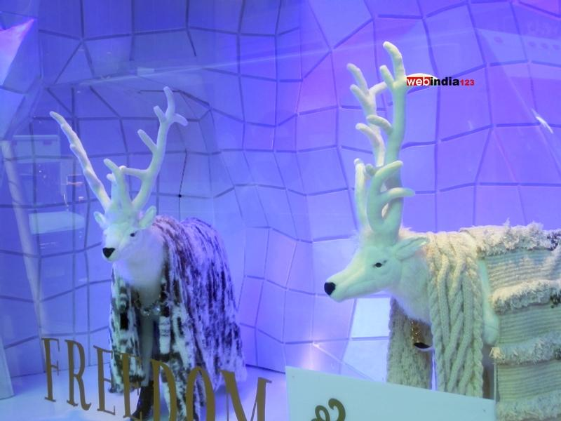 Barneys New York 'BAZ DAZZLED' Holiday Windows