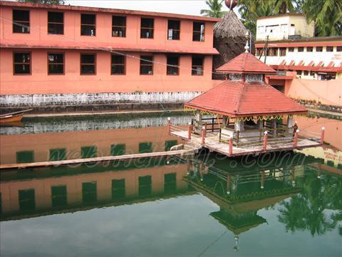 Pond at Udupi Sree Krishna Temple