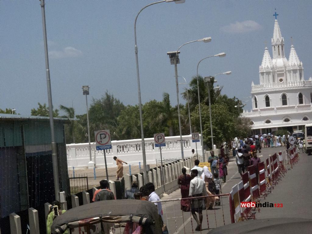 The Basilica of Our Lady of Good Health (Velankanni)