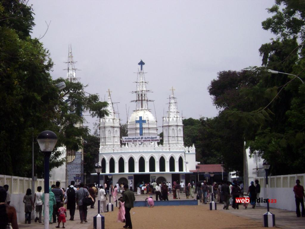 The Basilica of Our Lady of Good Health (Velankanni)