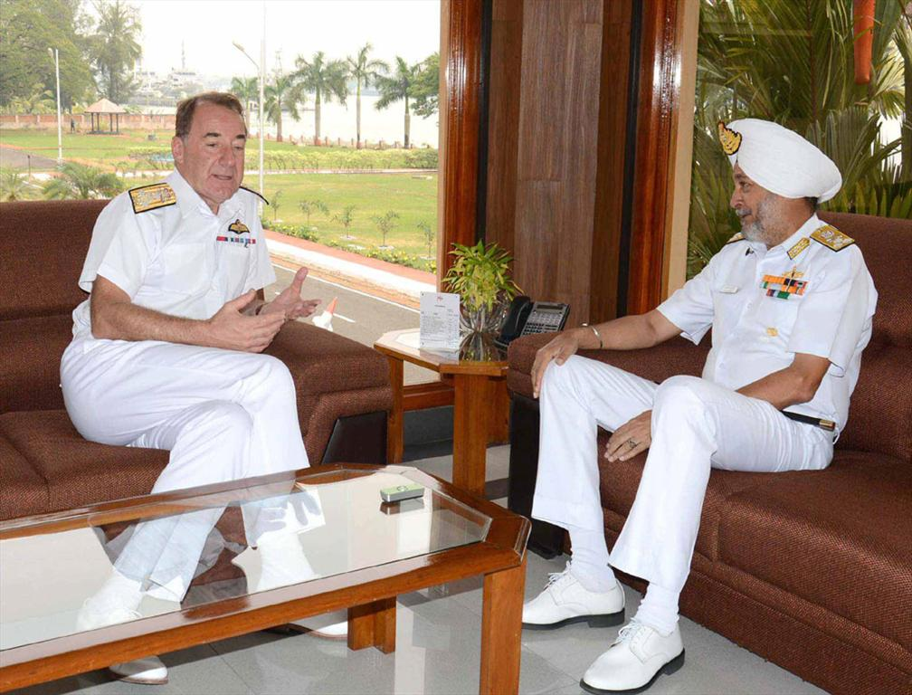 First Sea Lord of Royal Navy visit Kochi