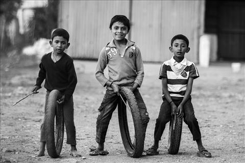 The Rolling childhood.