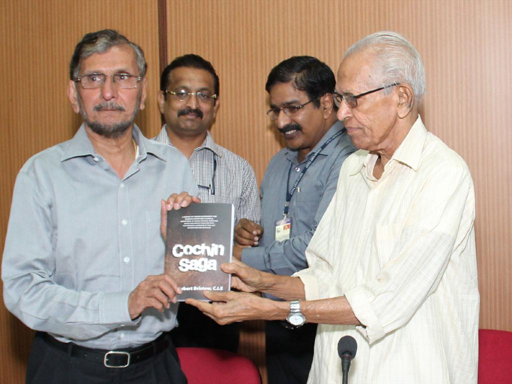Cochin Saga, the book authored by Sir Robert Bristow released