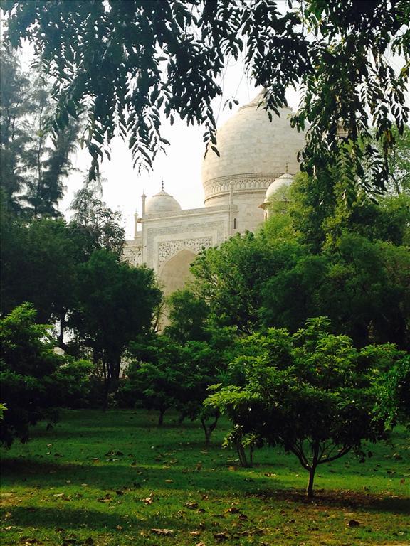 Taj Mahal in ghunghat