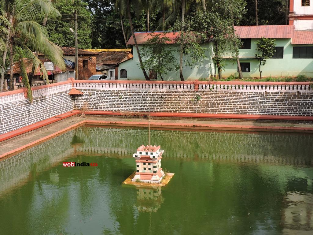 Shantadurga Temple- Pond